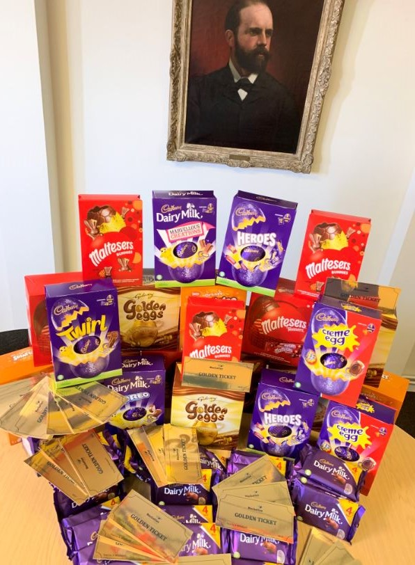 Golden Ticket - Easter prizes to be won