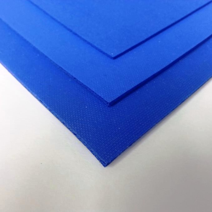 Fluorosilicone Sponge Rubber in Blue to ASTM D6576 Type 2 Grade A,B,C