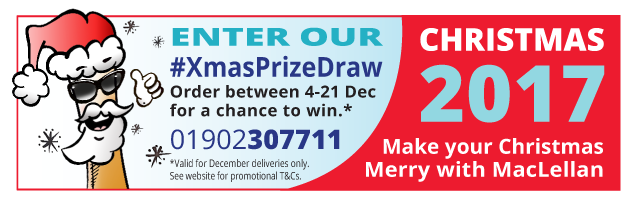 Enter Our Xmas Prize Draw