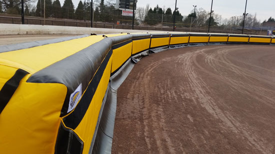 High Speed Race Track Barriers