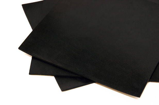 Q080 European Manufactured BS1154 Z40 40° Shore Black Shotblast Natural(NR) Rubber Sheet