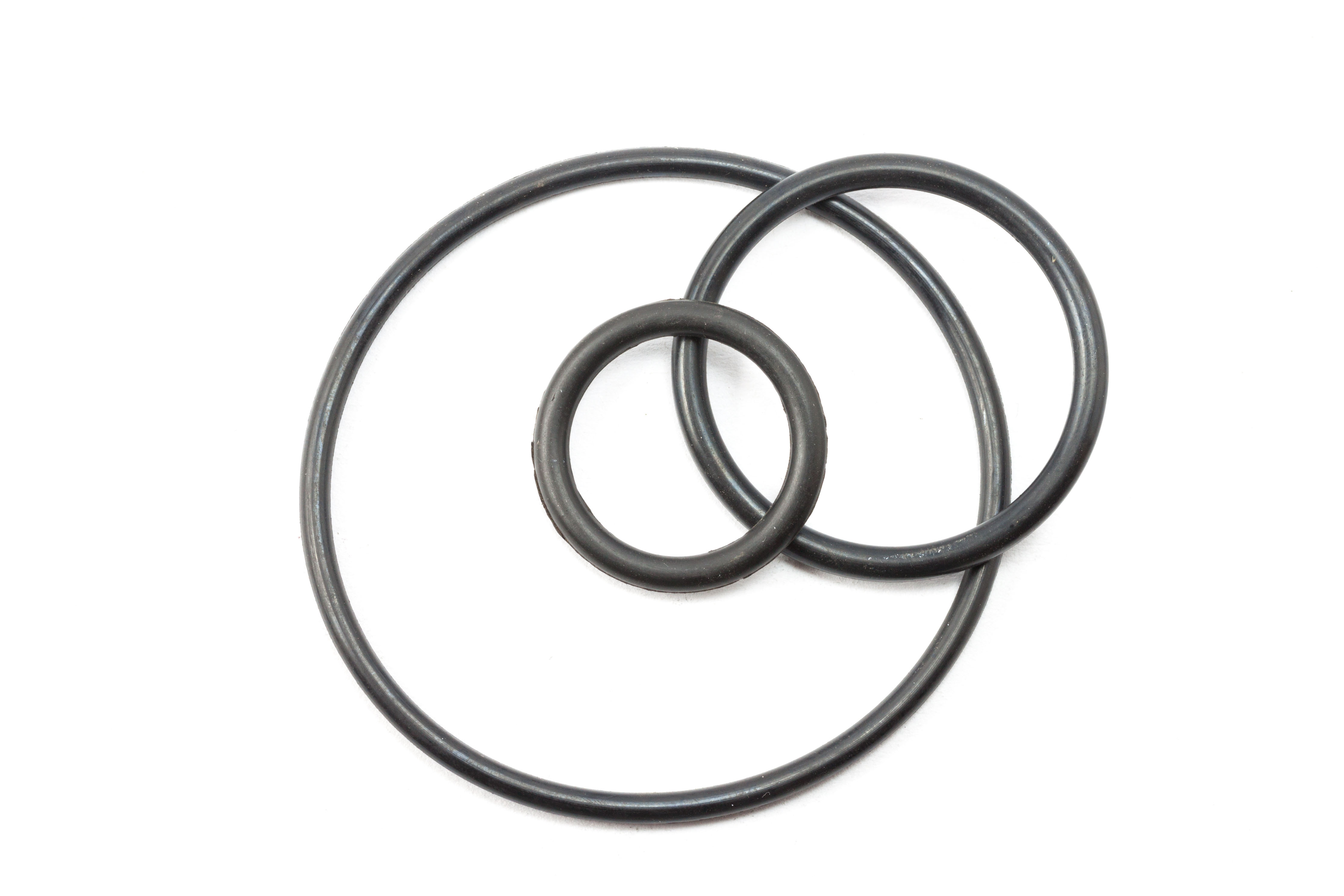 E101 PFA/Viton Solid Core Encapsulated O Ring
