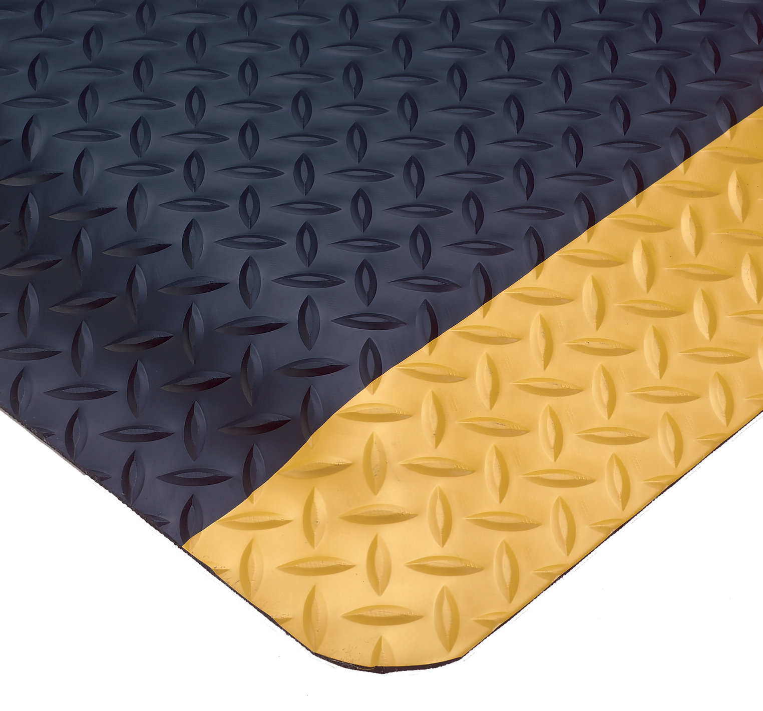 Diamond Plate Anti-Fatigue Rubber mats